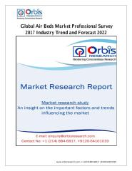 Global Air Beds Market Professional Survey 2017 Industry Trend and Forecast 2022.pdf
