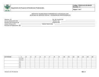 ITESCO-AC-PO-004-05 Formato Seguimiento de Proyecto de Residencias Profesionales.doc