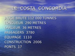 LE COSTA CONCORDIA (1).pps