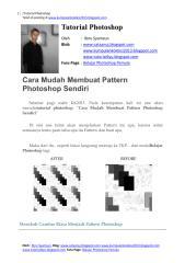 Cara Mudah Membuat Pattern Photoshop Sendiri.pdf