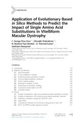 George Priya Doss et al_2014_Chapter Six - Application of Evolutionary Based in Silico Methods to Predict.pdf