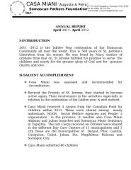 ANNUAL REPORT April - February 2012.doc