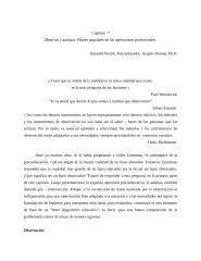Capitulo 7 La observacion y la evaluacionPilares angulares de las operaciones profesionales.doc
