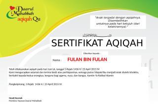sertifikat Aqiqah.docx