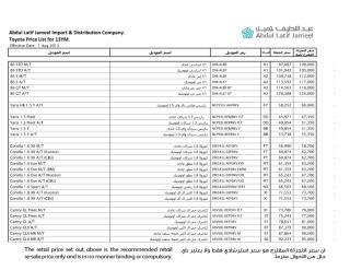 DSO Toyota Price List 2013.pdf
