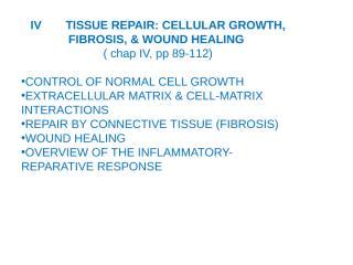 tissue repair.ppt