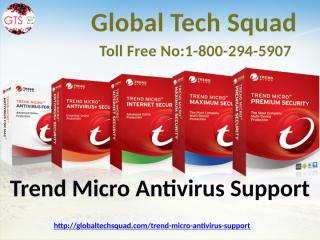 Trend Micro Antivirus Tech Support  Call 800 294 5907.pptx