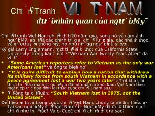 ChienTranh VN .pps