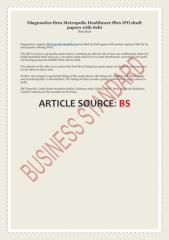 Diagnostics firm Metropolis Healthcare files IPO draft papers with Sebi.pdf