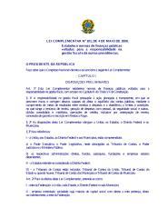 Lei Complementar 101.00 Lei de Responsabilidade Fiscal (LRF).pdf
